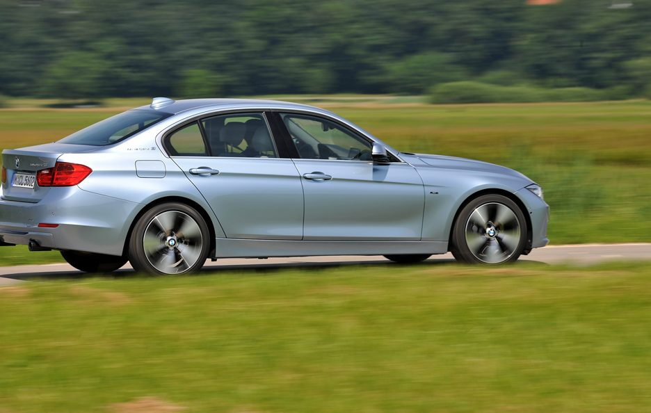 BMW ActiveHybrid 3 - Linee laterali