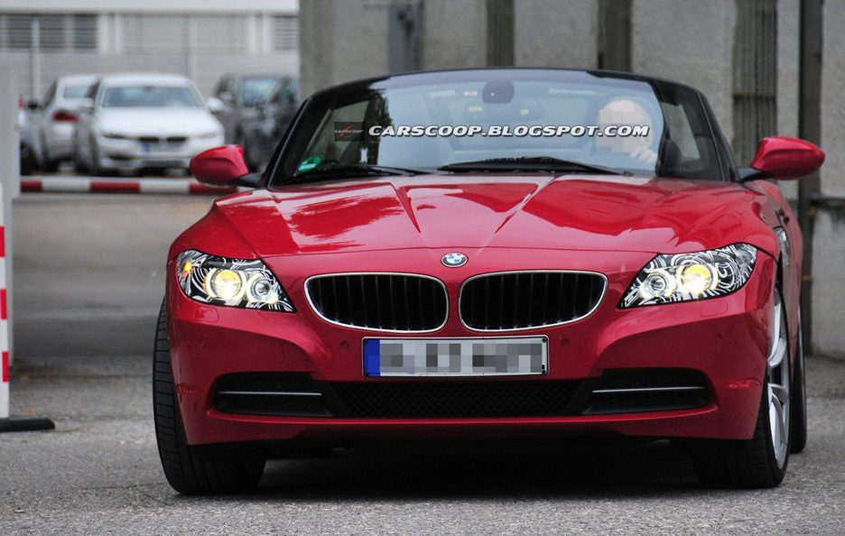 BMW Z4 Faceflit - Frontale