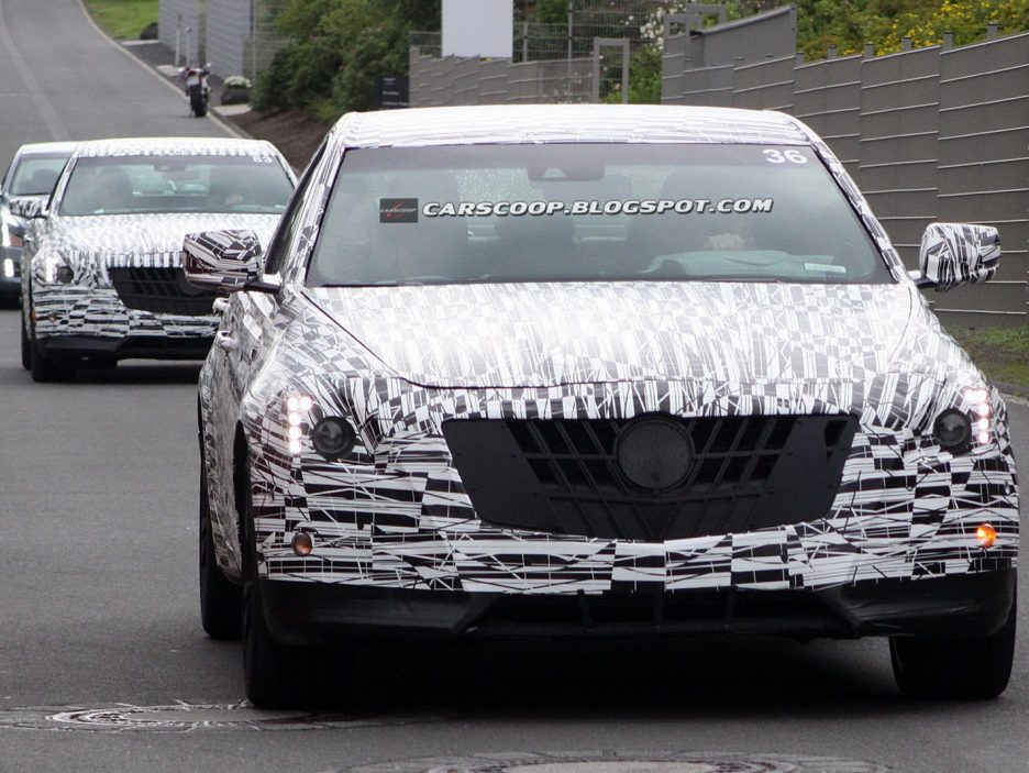 Cadillac CTS 2014 - Frontale