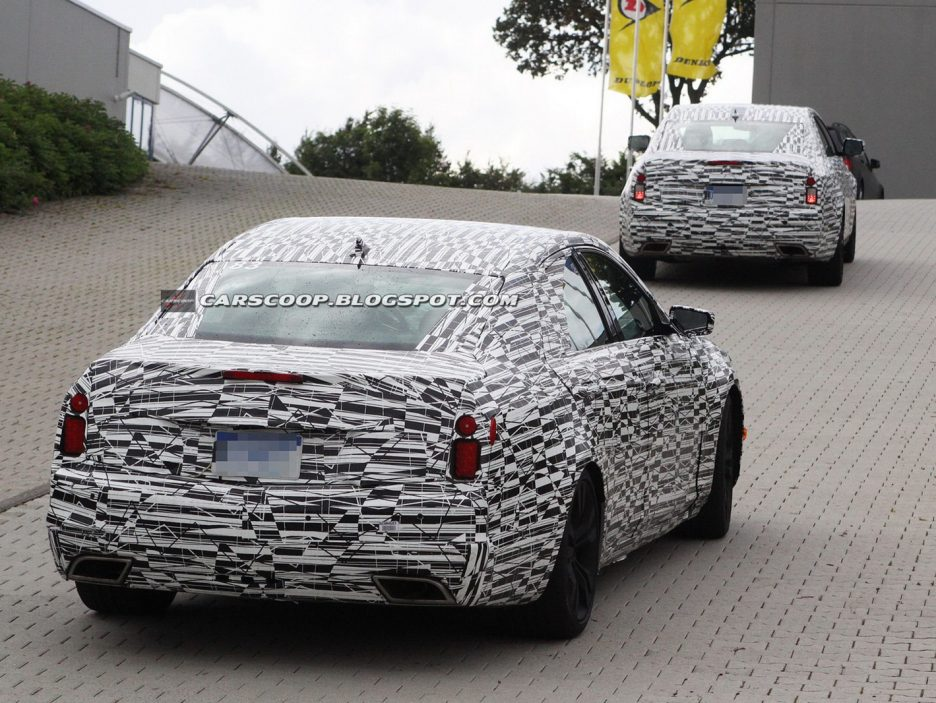 Cadillac CTS 2014 - Posteriore