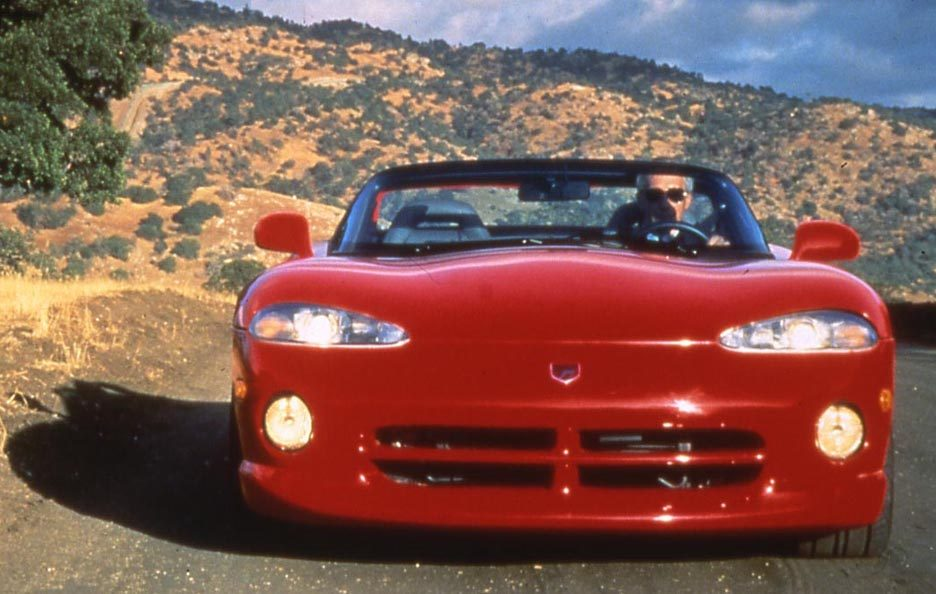 Dodge Viper RT:10 frontale