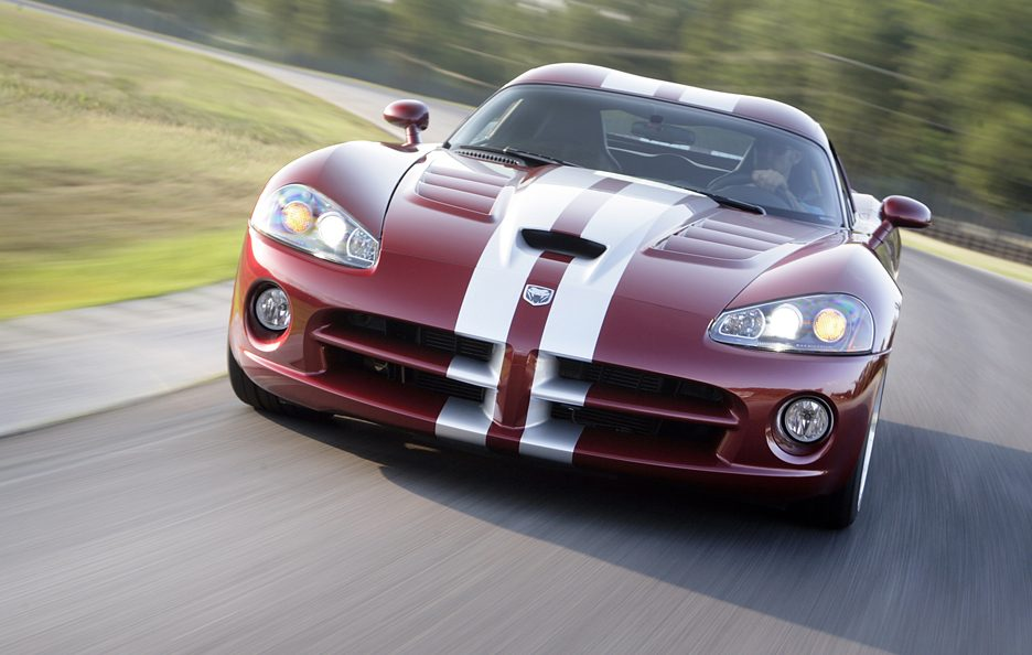 Dodge Viper SRT-10 Phase II Coupé frontale