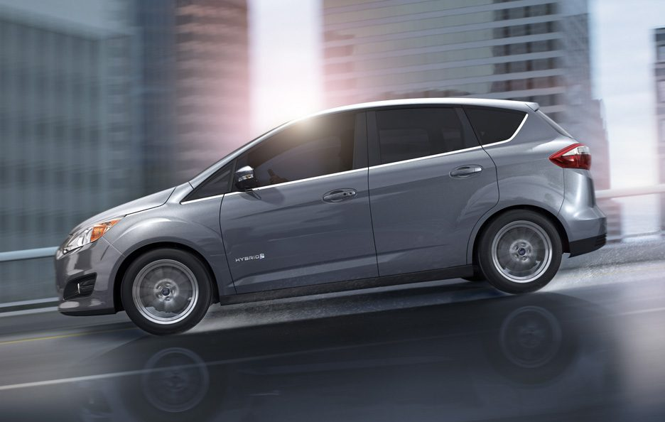 Ford C-MAX Energi Plug-in - Laterale
