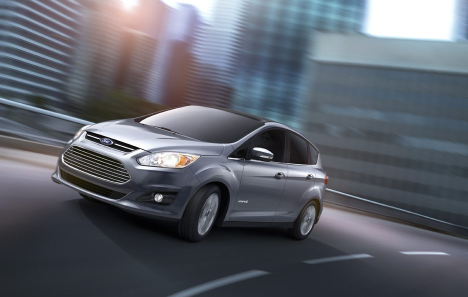 Ford C-MAX Hybrid - Frontale