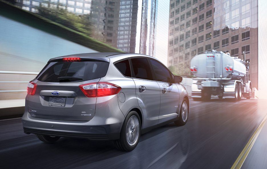 Ford C-MAX Hybrid - Posteriore in motion