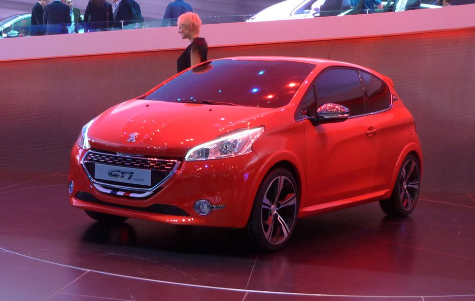 Ginevra 2012 - Peugeot 208 GTI Concept