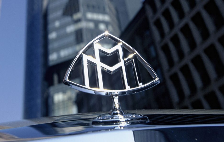 Maybach 57 logo Maybach