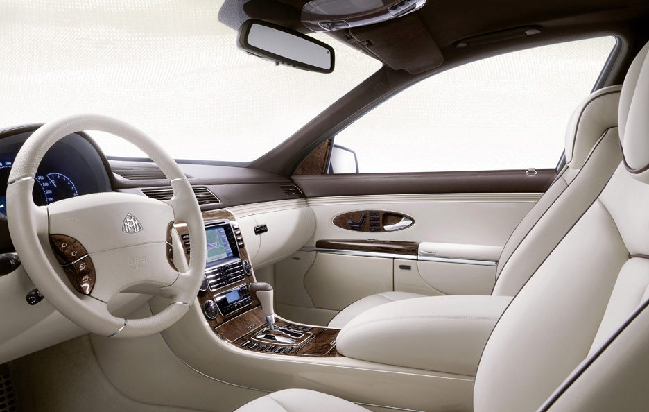 Maybach 57 restyling interni