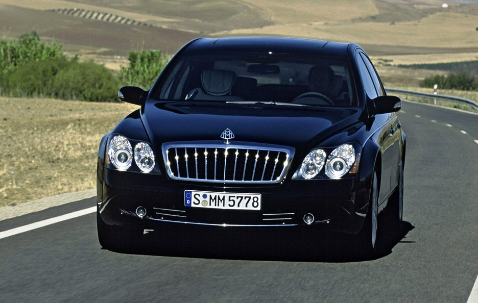 Maybach 57S frontale