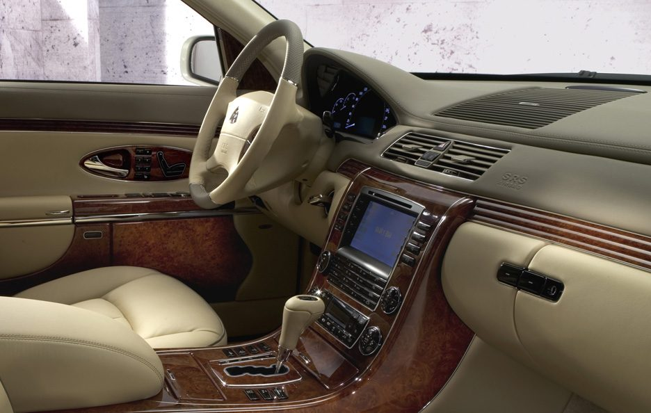 Maybach 57S interni