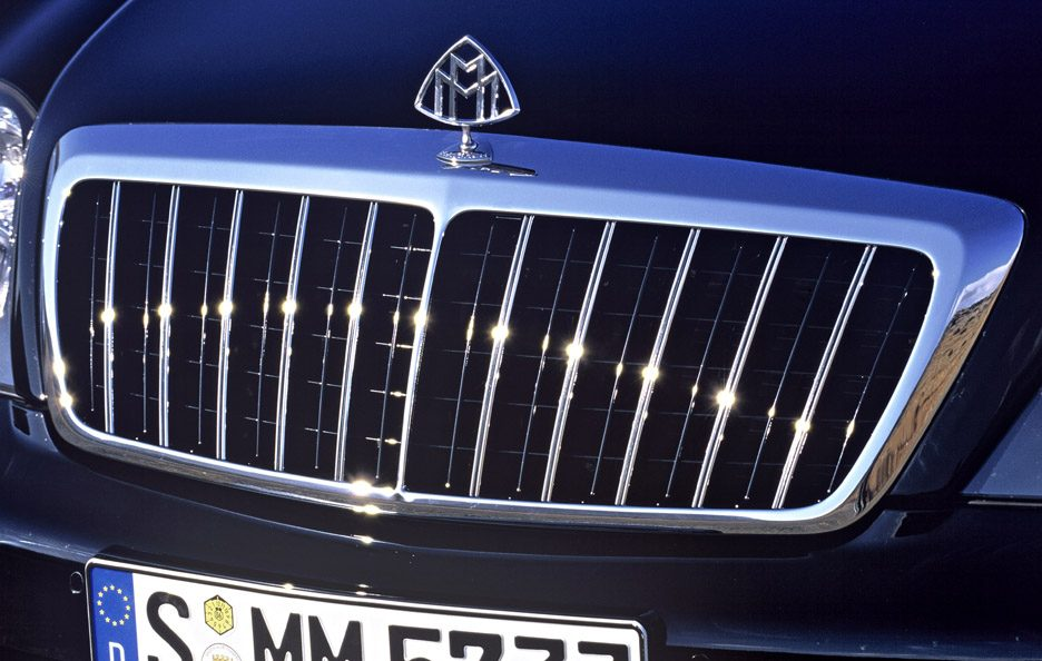 Maybach 57S mascherina