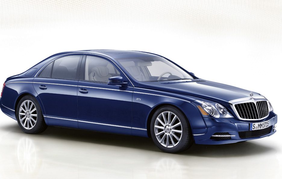 Maybach 57S restyling