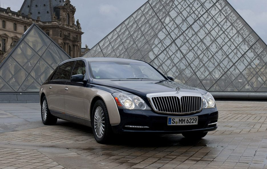 Maybach 62 restyling