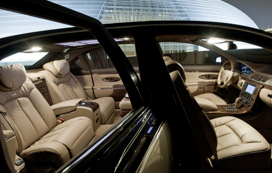 Maybach 62 restyling abitacolo