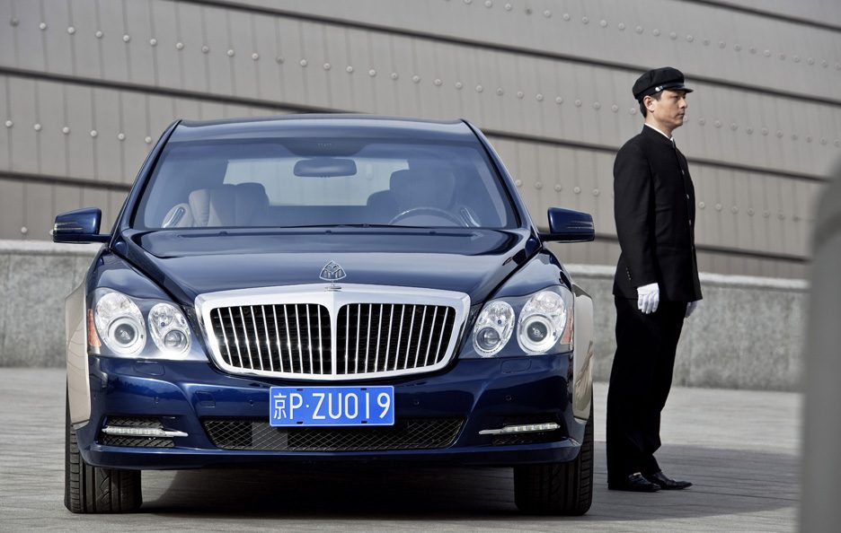 Maybach 62 restyling frontale