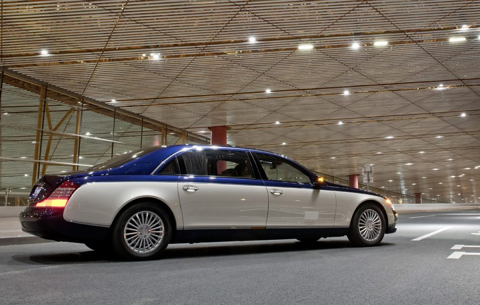Maybach 62 restyling tre quarti posteriore