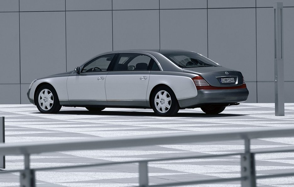 Maybach 62 tre quarti posteriore
