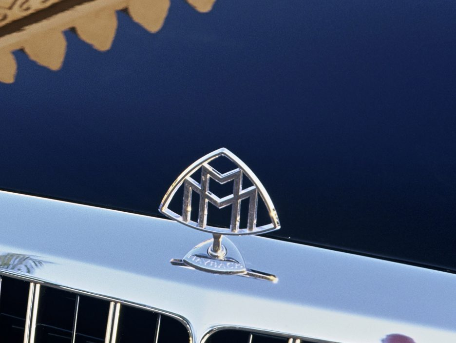Maybach 62S logo Maybach