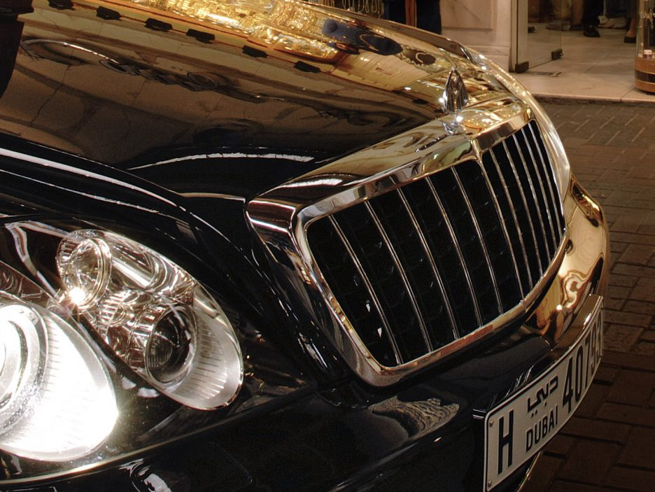Maybach 62S mascherina