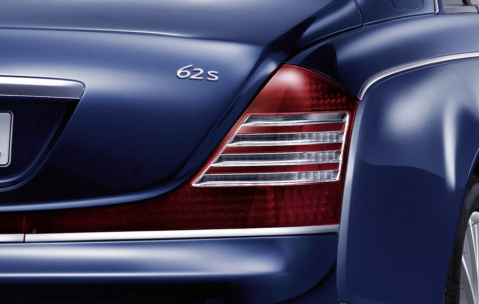 Maybach 62S restyling faro posteriore