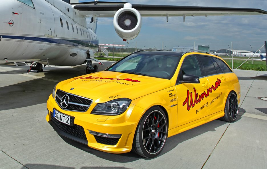 Mercedes C 63 AMG Wagon by Wimmer - Le linee