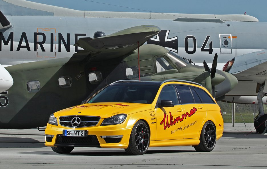 Mercedes C 63 AMG Wagon by Wimmer - Linee
