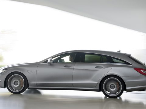 Mercedes CLS 63 AMG Shooting Brake - Laterale