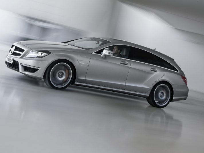 "Mercedes CLS 63 AMG Shooting Brake: station wagon ""sopra le righe"""