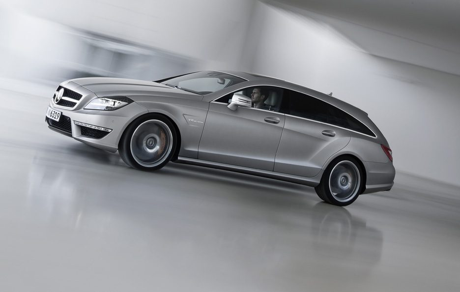 Mercedes CLS 63 AMG Shooting Brake - Profilo