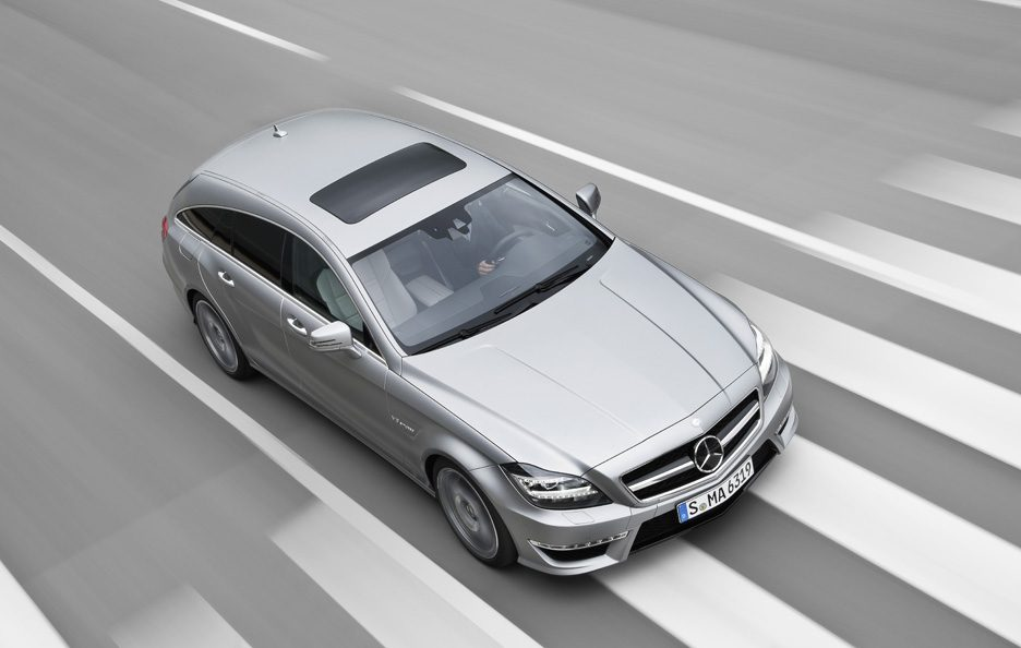 Mercedes CLS 63 AMG Shooting Brake - Profilo alto