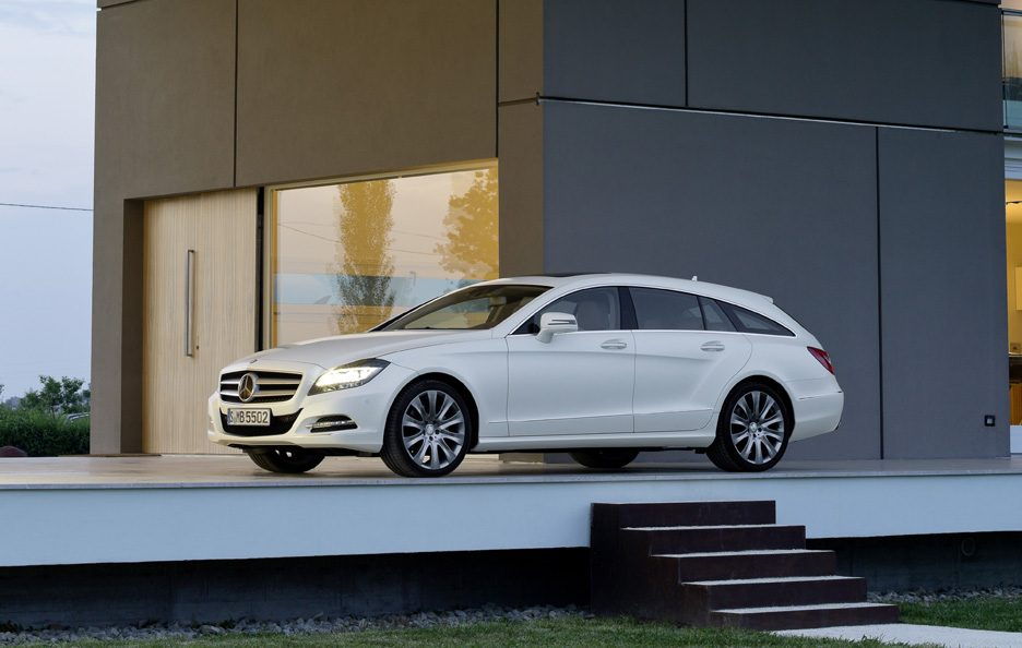 Mercedes CLS Shooting Brake - Il design