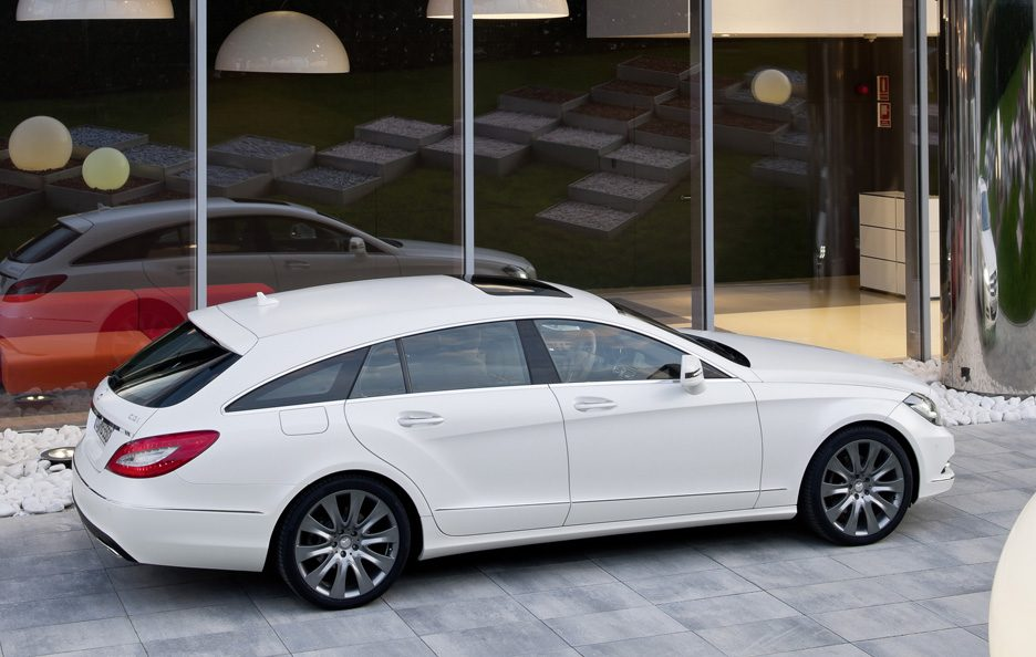 Mercedes CLS Shooting Brake - Laterale alto