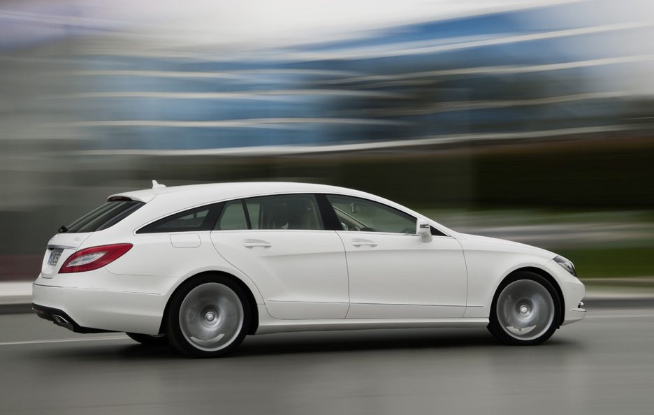 Mercedes CLS Shooting Brake - Laterale in motion
