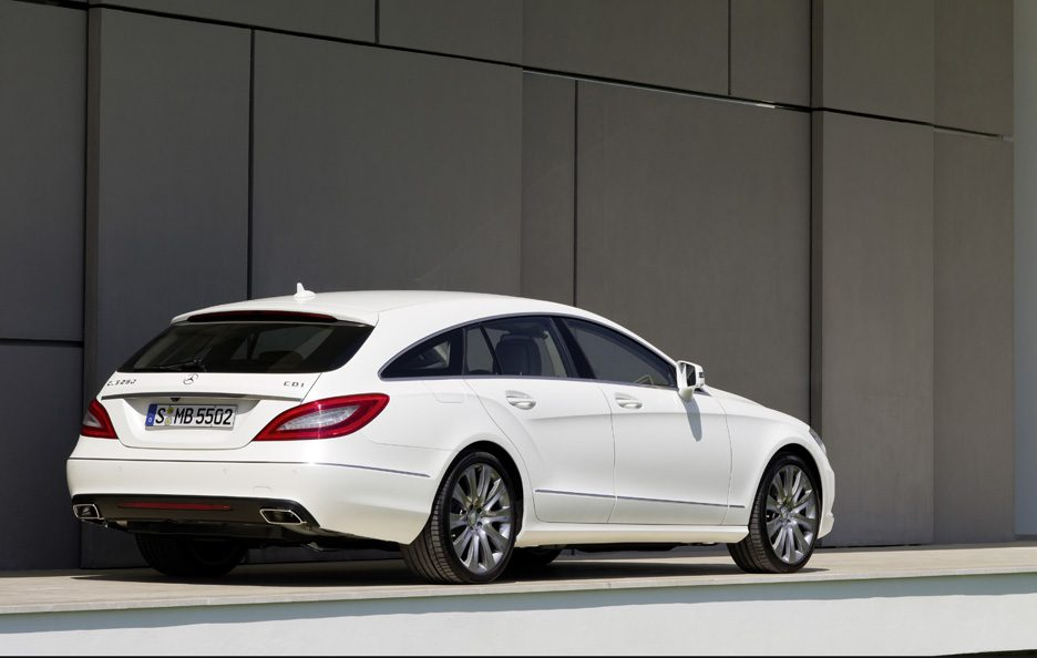 Mercedes CLS Shooting Brake - Linee posteriore