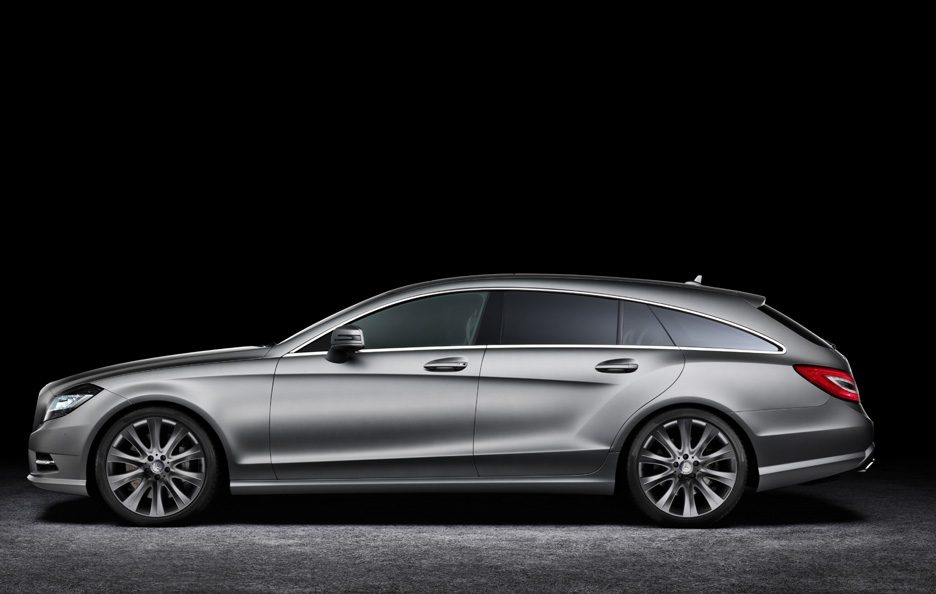 Mercedes CLS Shooting Brake - Profilo