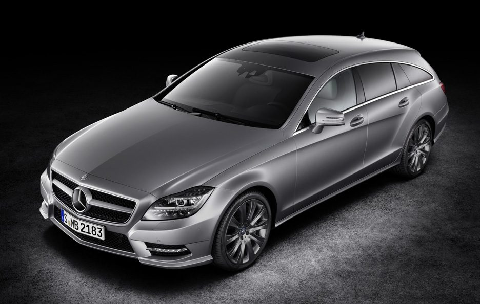 Mercedes CLS Shooting Brake - Profilo alto