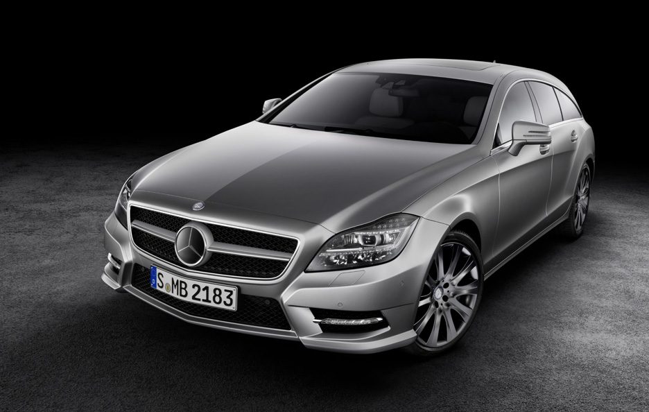 Mercedes CLS Shooting Brake - Profilo frontale