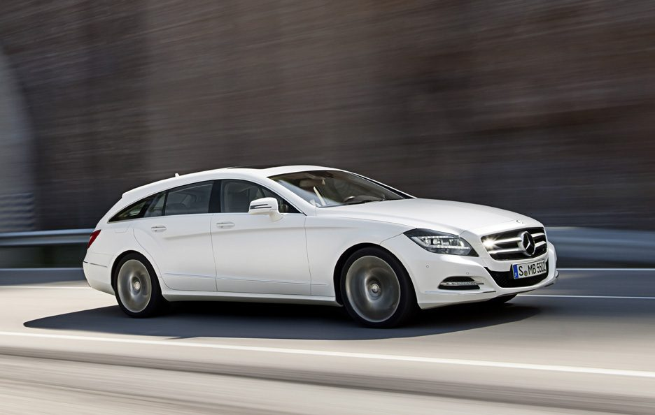 Mercedes CLS Shooting Brake - Profilo in motion
