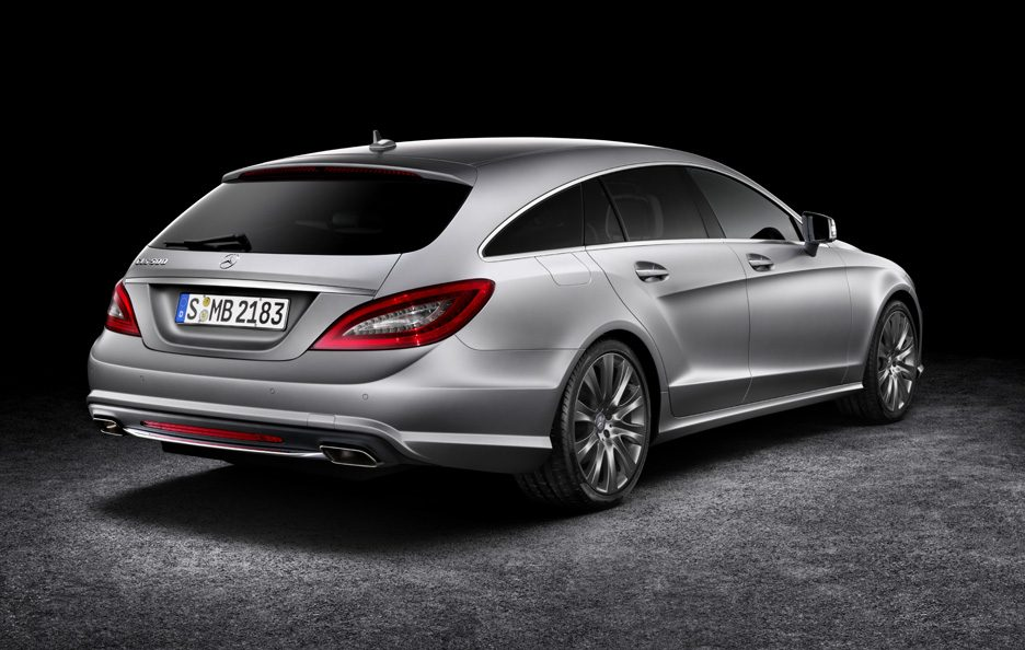 Mercedes CLS Shooting Brake - Profilo posteriore
