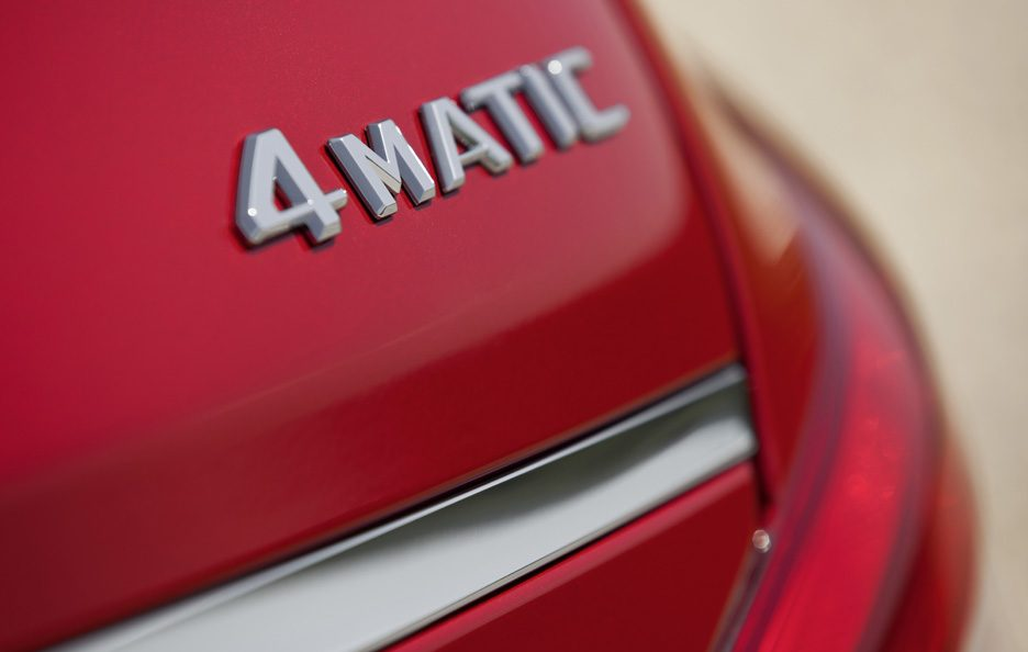 Mercedes CLS Shooting Brake - Red - Logo 4Matic