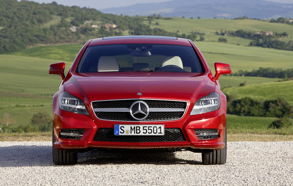 Mercedes CLS Shooting Brake - Red - Muso