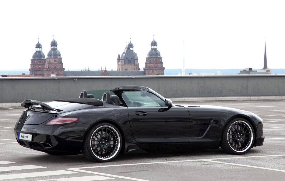 Mercedes SLS Roadster by Vath - Linee