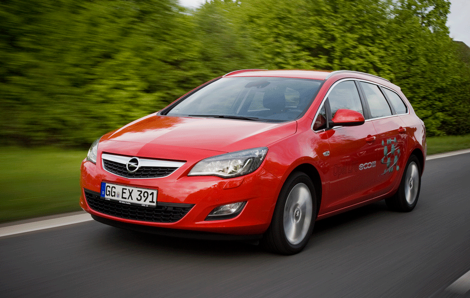 Opel Astra Sports Tourer Frontale