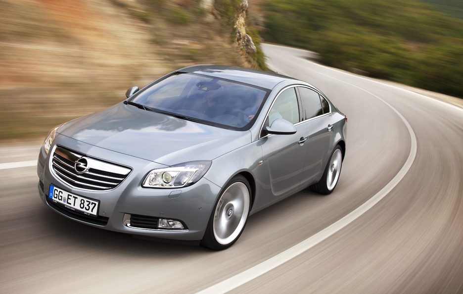 Opel Insignia 2012 - In motion