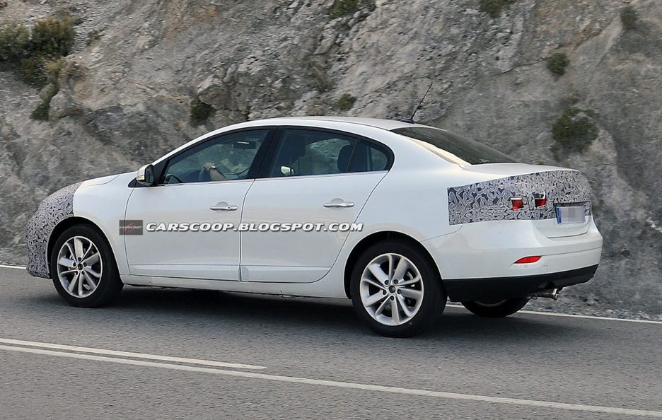 Renault Fluence 2013 - Design