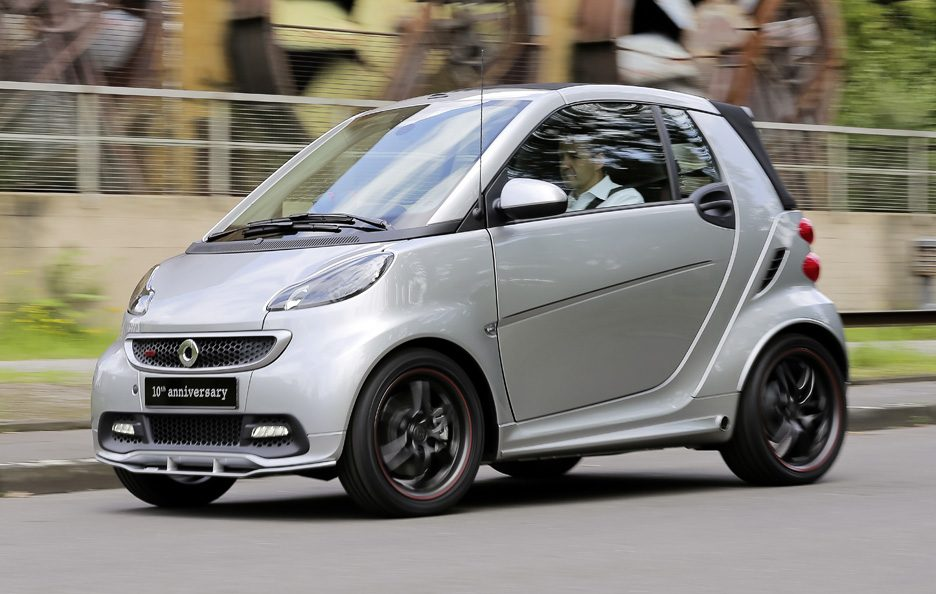 Smart Brabus 10th Anniversary - In motion