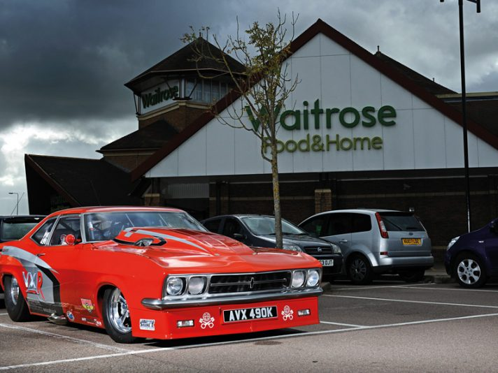 Vauxhall Red Victor 3: super Vaux