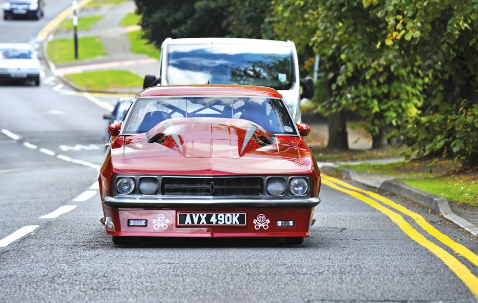 Vauxhall Red Victor 3 frontale