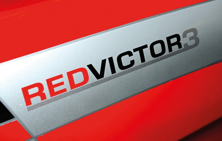 Vauxhall Red Victor 3 logo Red Victor 3