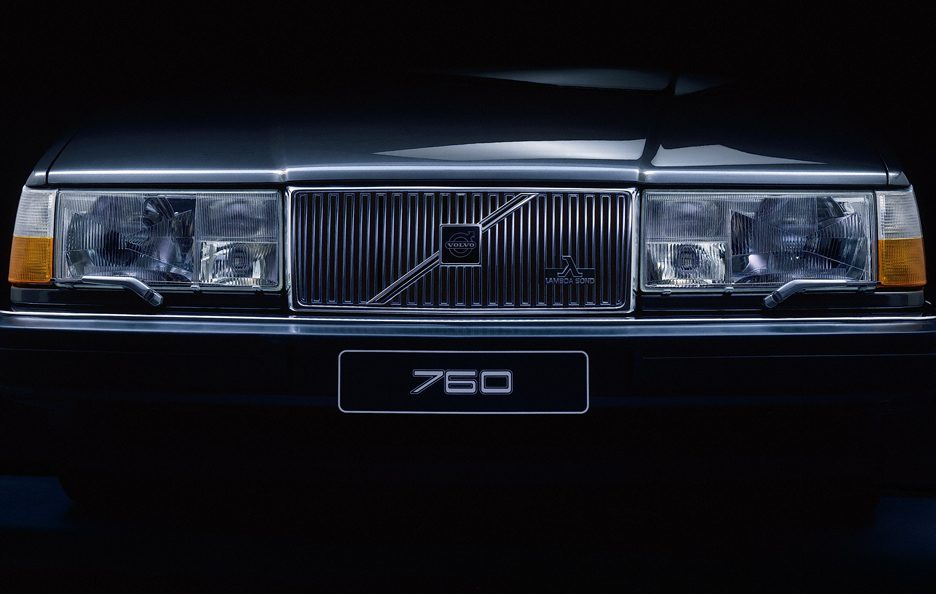 Volvo 760 restyling frontale